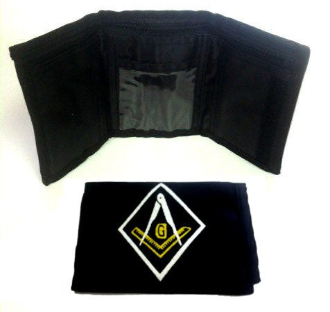Masonic Wallet With Several Features