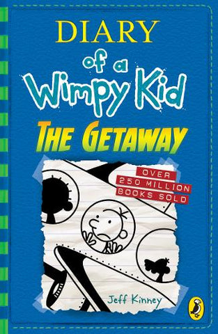 Diary of a Wimpy Kid: The Getaway (Book 12) (Paperback) Jeff Kinney (author)