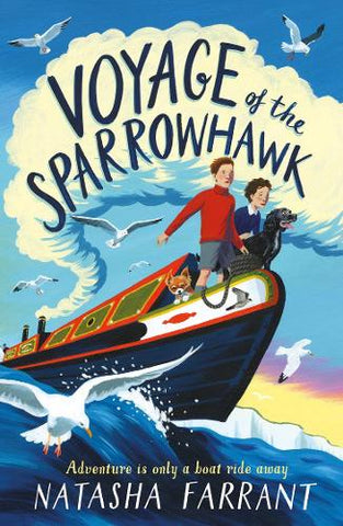 Voyage of the Sparrowhawk (Paperback) Natasha Farrant (author)