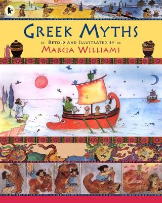 Greek Myths (Paperback) Marcia Williams (author,illustrator)