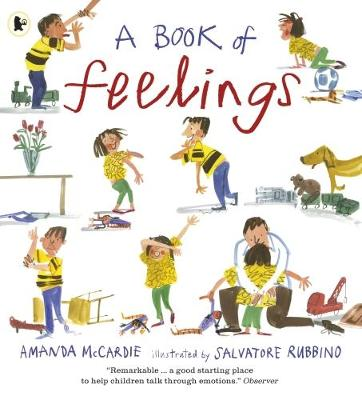 A Book of Feelings (Paperback) Amanda McCardie (author), Salvatore Rubbino (illustrator)