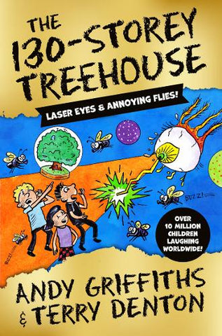 The 130-Storey Treehouse - The Treehouse Series (Paperback) Andy Griffiths (author), Terry Denton (illustrator)