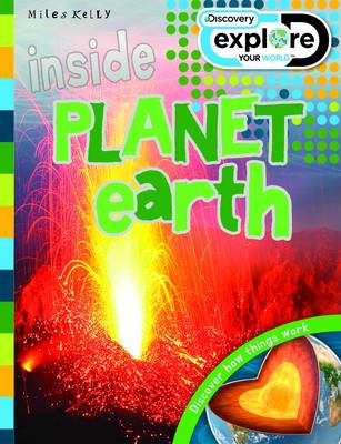 Inside Planet Earth - Discovery Explore Your World (Paperback) Steve Parker (author)
