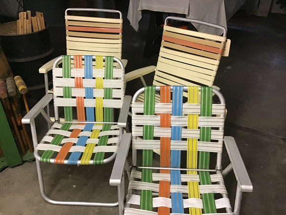 Other vintage lawn chairs to select from!