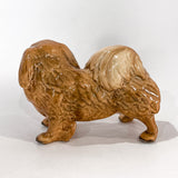 Vintage 1935 Pekingese Dog Figure Martens Studio Ceramic Sculpture Side 5