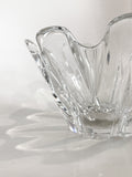 Clear Crystal Glass Scalloped Splash Orrefors Sweden Candy Dish Bowl Profile