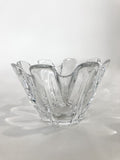 Clear Crystal Glass Scalloped Splash Orrefors Sweden Candy Dish Bowl Side 1