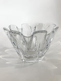 Clear Crystal Glass Scalloped Splash Orrefors Sweden Candy Dish Bowl Side 2