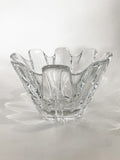 Clear Crystal Glass Scalloped Splash Orrefors Sweden Candy Dish Bowl Side 3