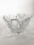 Clear Crystal Glass Scalloped Splash Orrefors Sweden Candy Dish Bowl Side 4