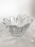 Clear Crystal Glass Scalloped Splash Orrefors Sweden Candy Dish Bowl Side 5