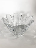 Clear Crystal Glass Scalloped Splash Orrefors Sweden Candy Dish Bowl Side 6