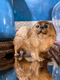 Vintage 1935 Pekingese Dog Figure Martens Studio Ceramic Sculpture