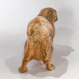 Vintage 1935 Pekingese Dog Figure Martens Studio Ceramic Sculpture Side 7of