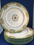 Set of (8) eight Dinner Plates KYNANCE by Wedgwood England
