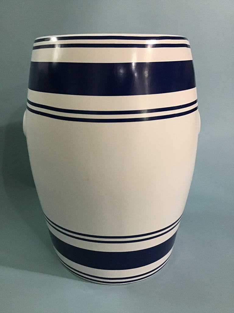 A Classic Ceramic Garden Stool, by Port 68, New