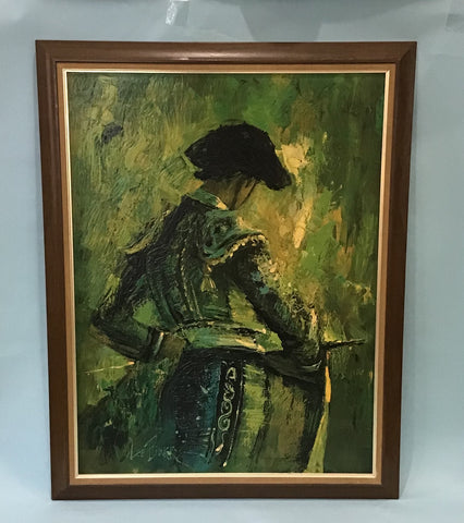 A Portrait of A Matador, The Challenge, Lee Burr, Turner Mfg Co. 1970's