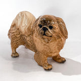Vintage 1935 Pekingese Dog Figure Martens Studio Ceramic SculptureSide 2