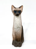 Ceramic Siamese Cat Sculpture by Artist Dane Burr, Cleveland, Ohio (1925 - 2013) Front 2