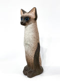 Ceramic Siamese Cat Sculpture by Artist Dane Burr, Cleveland, Ohio (1925 - 2013) Front 3