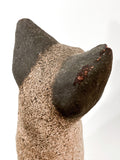 Ceramic Siamese Cat Sculpture by Artist Dane Burr, Cleveland, Ohio (1925 - 2013) Back Of Ear