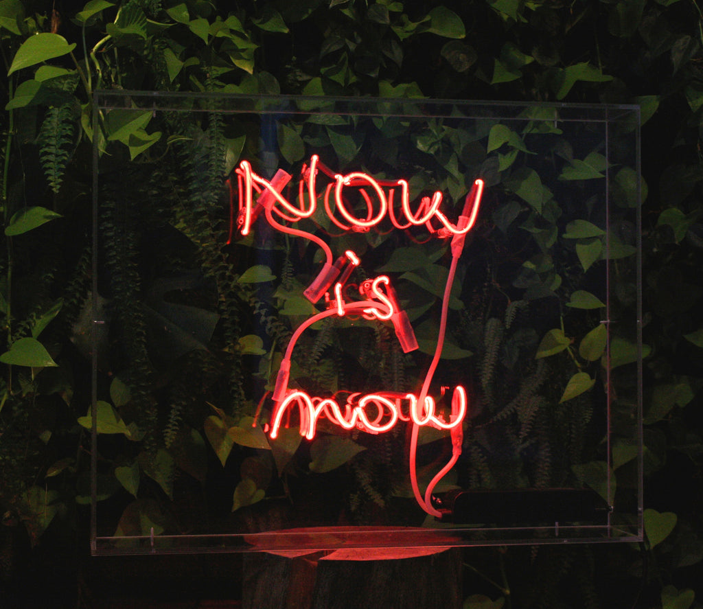 Now is now