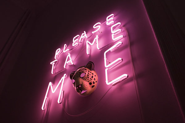 """Please tame me"" - Neon från under"