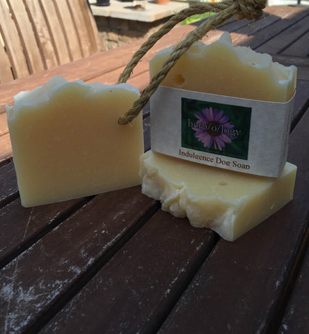 Indulgence Natural Dog Soap
