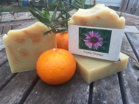 Exotic Orange Natural Soap