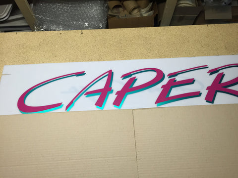Caper Graphics, assorted colors