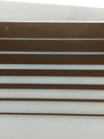 "Boot Stripe Tape, Brown, 3 3/8"" wide"