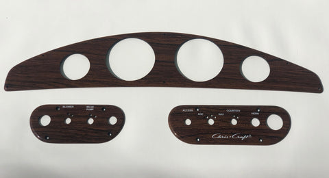 Instrument Panel Set of 3 for 190 Concept