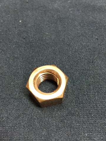 Silicon Bronze Nut, 1/2""
