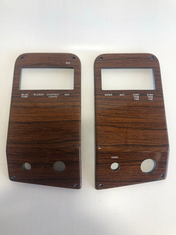 Switch Panel Pair, teak