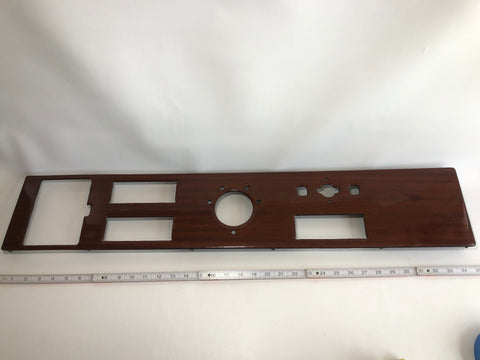 Dash Panel, mahogany look