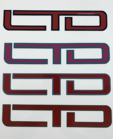 LTD Decal, Pair