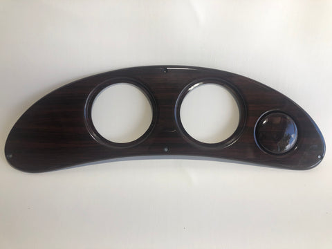 Gauge Panel, Rosewood, for 240, 230, 210, 200
