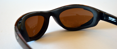 wraparound glasses with windproof gasket