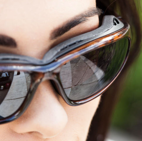 Protect your eyes from wind, spray, and glare when you are ...