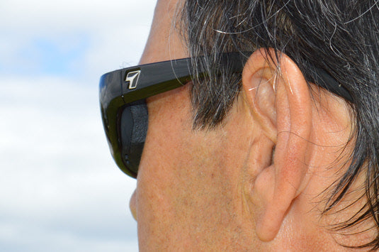 our sunglasses have a windproof gasket