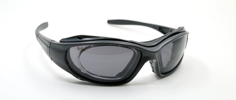 rx insert sunglasses with gasket for wind protection