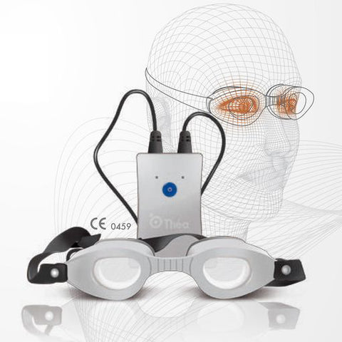 Blephasteam goggles for MGD therapy