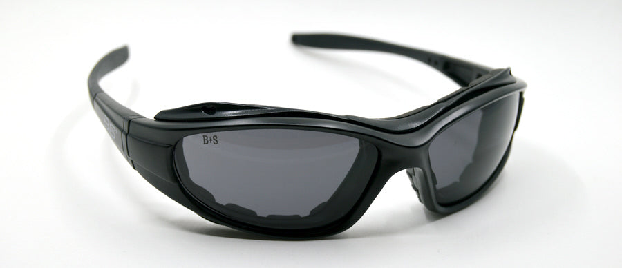 BSS-78 wraparound sunglasses with gasket and interchangeable lenses