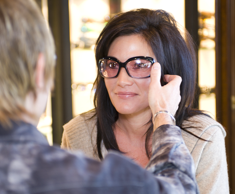 dry eye spectacles fitting service