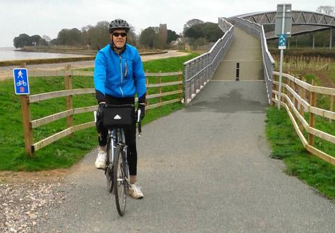 Cycling along the Exe trail