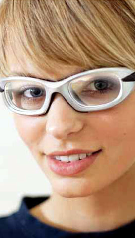 girl wearing Progear glasses