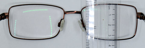 measure the depth of your spectacle frame