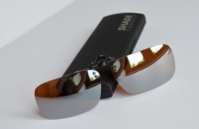 non polarised clip on sunglasses