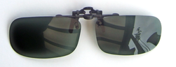 polarised grey flip up lenses