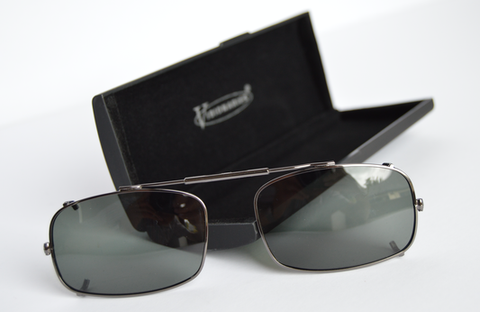 Visionaries polarised clip on sunglasses